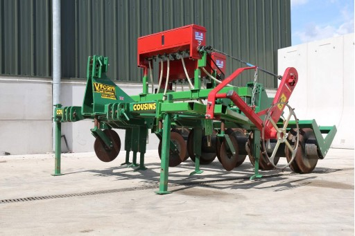 Cousins V-Form Micro Wing Rape Seeder (3m)