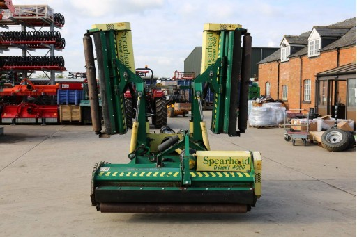 Spearhead Trailed Flail Mower (4m)
