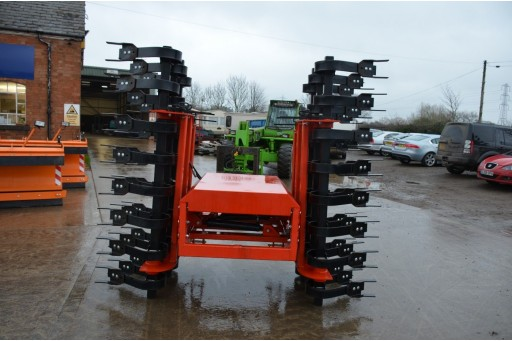 4M Cross Grassland Scarifier / Re-seeder